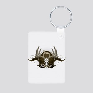 Deer Slayer Aluminum Photo Keychain